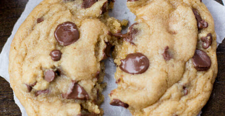Worst Ever Chocolate Chip Cookies